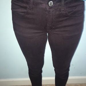 American eagle plum jeans